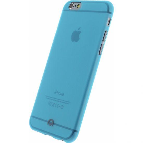 Mobilize Gelly - Coque arrière en TPU pour iPhone 6(s) - Neon Blue