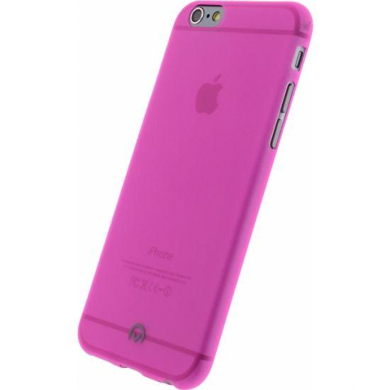 Mobilize Gelly - Coque arrière en TPU pour iPhone 6(s) - Neon Fuchsia