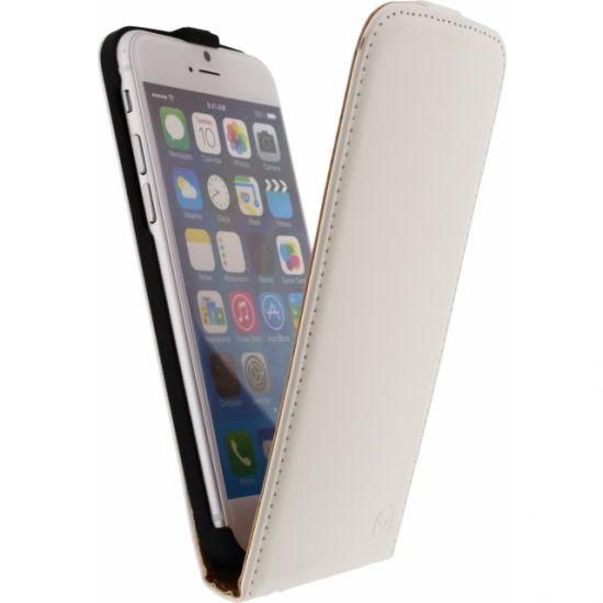 Mobilize Ultra Slim - Etui à clapet pour iPhone 6(s) - Blanc