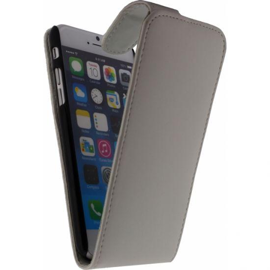 Xccess - Etui à clapet pour iPhone 6(s) - Blanc