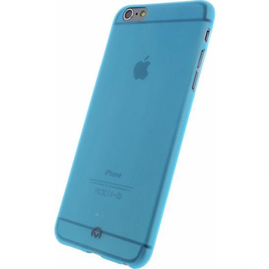 Mobilize Gelly - Coque arrière en TPU pour iPhone 6(s) Plus - Neon Blue