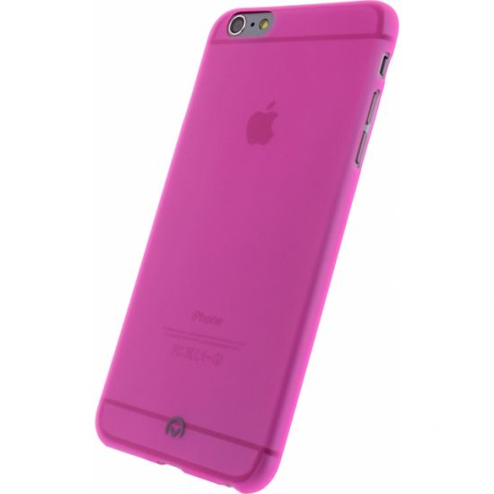 Mobilize Gelly - Coque arrière en TPU pour iPhone 6(s) Plus - Neon Fuchsia