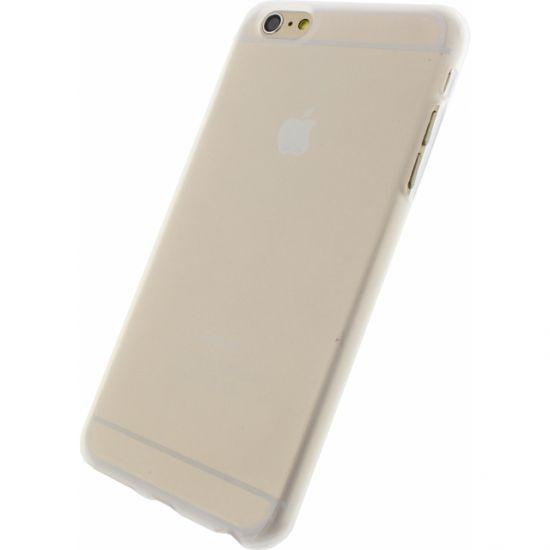 Mobilize Gelly - Coque arrière en TPU pour iPhone 6(s) Plus - Blanc