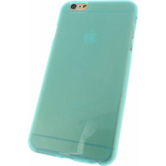 Mobilize Gelly - Coque arrière en TPU pour iPhone 6(s) Plus - Turquoise