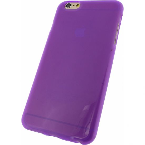 Mobilize Gelly - Coque arrière en TPU pour iPhone 6(s) Plus - Lilas