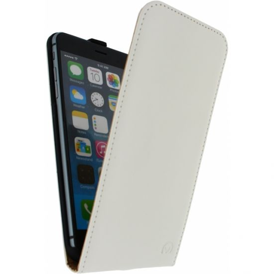 Mobilize Ultra Slim - Etui à clapet pour iPhone 6(s) Plus - Blanc