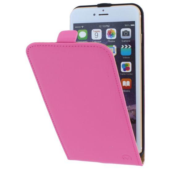 Mobilize Ultra Slim - Etui à clapet pour iPhone 6(s) Plus - Rose