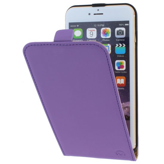 Mobilize Ultra Slim - Etui à clapet pour iPhone 6(s) Plus - Lilas