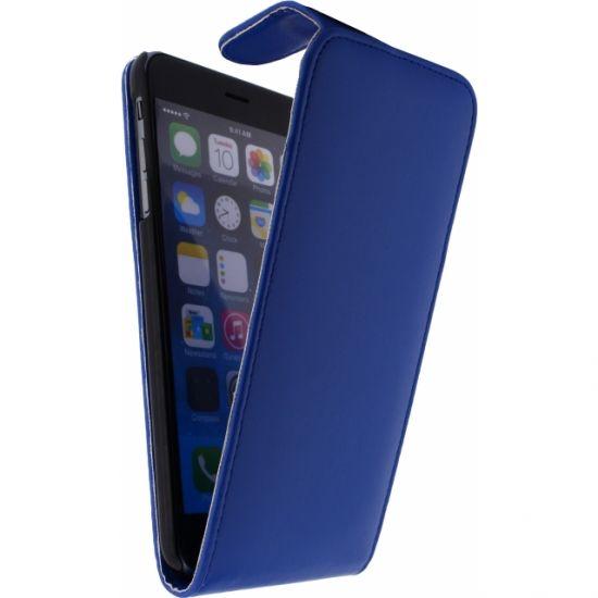 Xccess - Etui à clapet pour iPhone 6(s) Plus - Dark Blue