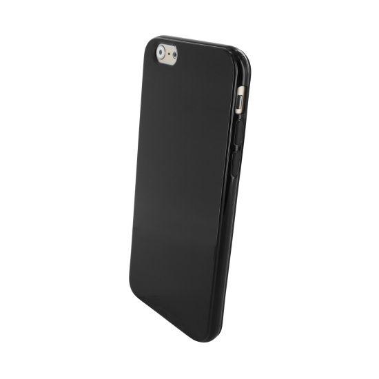 Mobiparts Essential - Coque arrière en TPU pour iPhone 6(s) - Noir