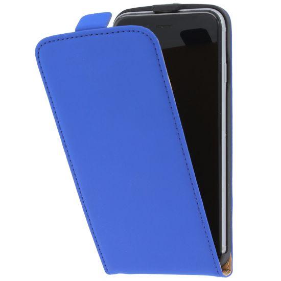Mobiparts Premium - Etui à clapet pour iPhone 6(s) - Bleu