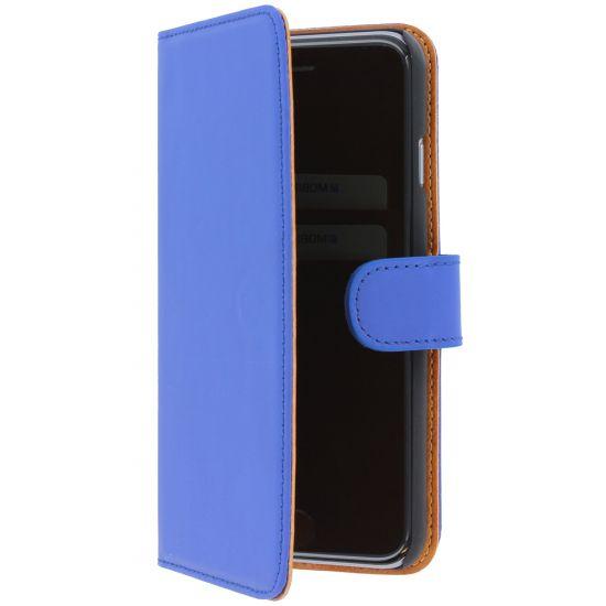 Mobiparts Premium Wallet - Etui pour iPhone 6(s) - Bleu