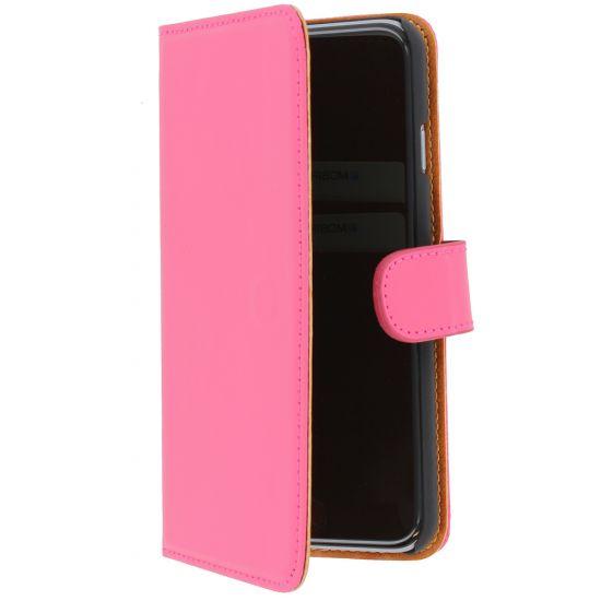 Mobiparts Premium Wallet - Etui pour iPhone 6(s) - Rose