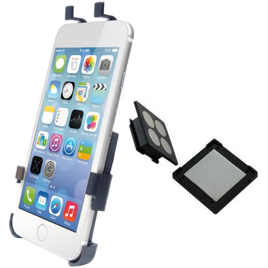 Haicom Magnetic - Support Voiture Tableau de bord pour iPhone 6(s) Plus - Noir
