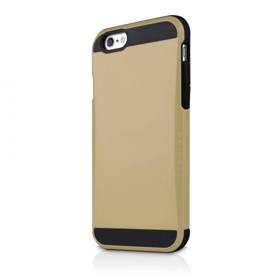 Itskins Evolution - Coque arrière en Plastique rigide pour iPhone 6(s) - Or