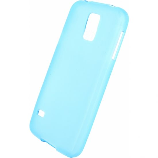 Mobilize Gelly - Coque arrière en TPU pour Samsung Galaxy S5 - Turquoise