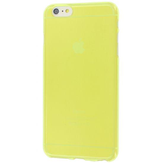 Colorfone - Coque arrière en TPU pour iPhone 6(s) Plus - Jaune