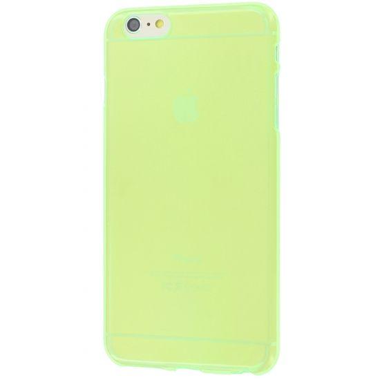 Colorfone - Coque arrière en TPU pour iPhone 6(s) Plus - Vert