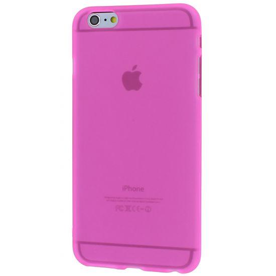 Mobigear Color - Coque arrière en TPU pour iPhone 6(s) Plus - Rose