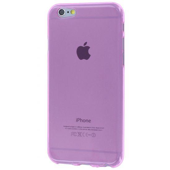 Mobigear Color - Coque arrière en TPU pour iPhone 6(s) - Rose