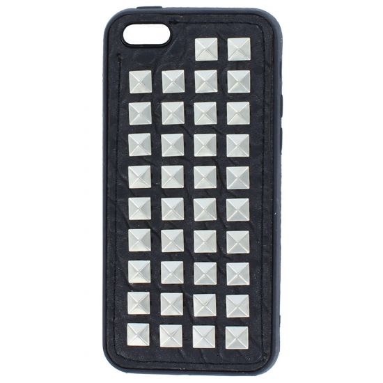 Colorfone - Coque arrière en TPU pour iPhone 5C - Noir