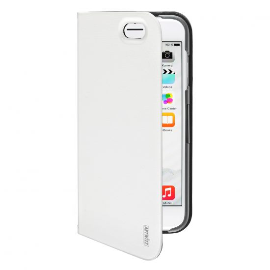 Artwizz SeeJacket Folio - Etui en Plastique rigide pour iPhone 6(s) Plus - Blanc