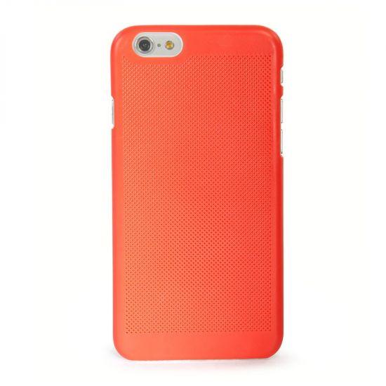 Tucano Tela Snap - Coque arrière en Plastique rigide pour iPhone 6(s) Plus - Rouge