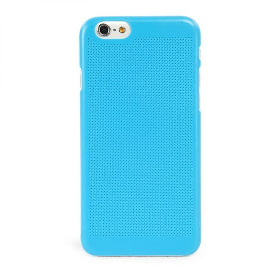 Tucano Tela Snap - Coque arrière en Plastique rigide pour iPhone 6(s) Plus - Bleu