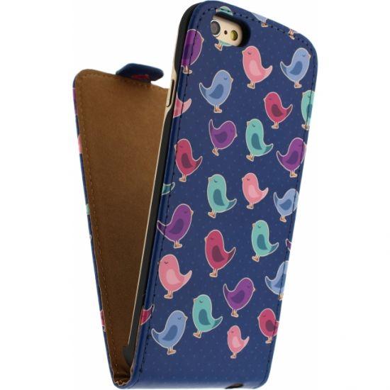 Mobilize Ultra Slim - Etui à clapet pour iPhone 6(s) - Birdy