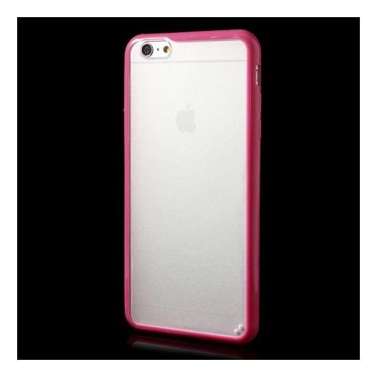 Mobigear Acrylic - Coque arrière en Plastique rigide pour iPhone 6(s) Plus - Rose