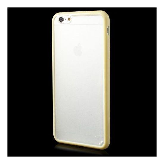 Mobigear Acrylic - Coque arrière en Plastique rigide pour iPhone 6(s) Plus - Jaune