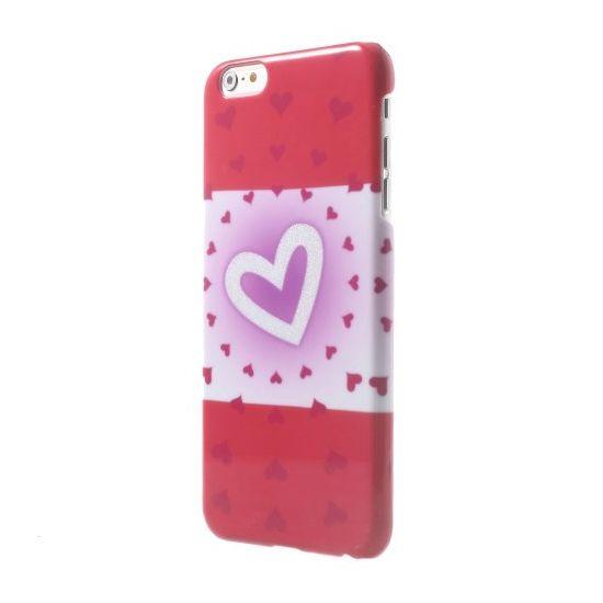 Mobigear Design - Coque arrière en Plastique rigide pour iPhone 6(s) Plus - Hearts