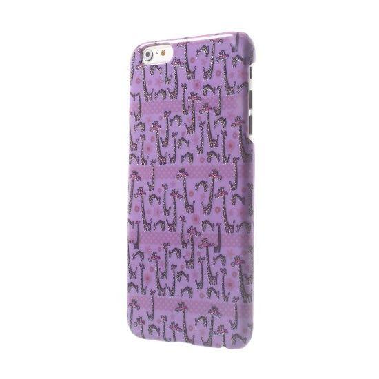 Mobigear Design - Coque arrière en Plastique rigide pour iPhone 6(s) Plus - Giraffe