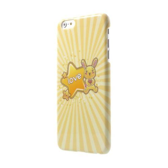 Mobigear Design - Coque arrière en Plastique rigide pour iPhone 6(s) Plus - Love Star