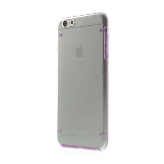 Mobigear Acrylic - Coque arrière en Plastique rigide pour iPhone 6(s) Plus - Transparent / Lilas