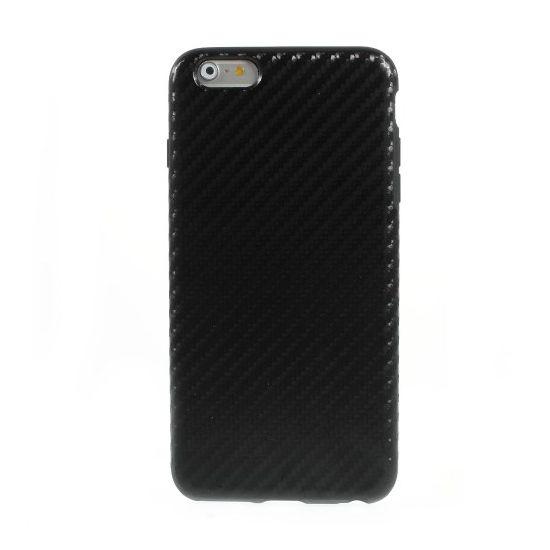 Mobigear Racing - Coque arrière en TPU pour iPhone 6(s) Plus - Noir