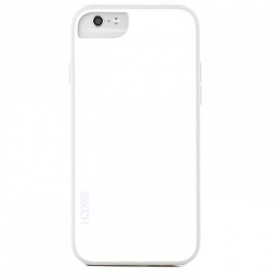 Skech Ice - Coque arrière en Plastique rigide pour iPhone 6(s) - Arctic White