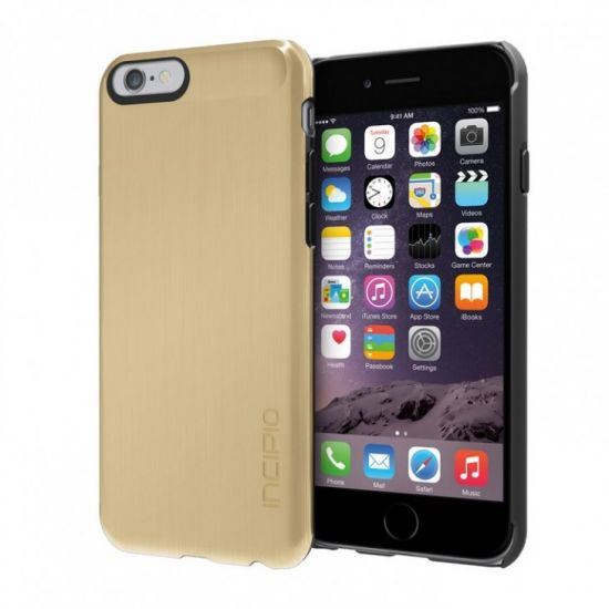 Incipio Feather Shine - Coque arrière en Plastique rigide pour iPhone 6(s) - Or