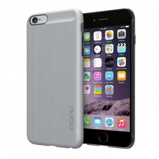 Incipio Feather Shine - Coque arrière en Plastique rigide pour iPhone 6(s) Plus - Argent