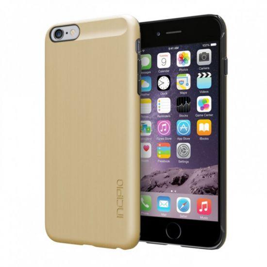 Incipio Feather Shine - Coque arrière en Plastique rigide pour iPhone 6(s) Plus - Or