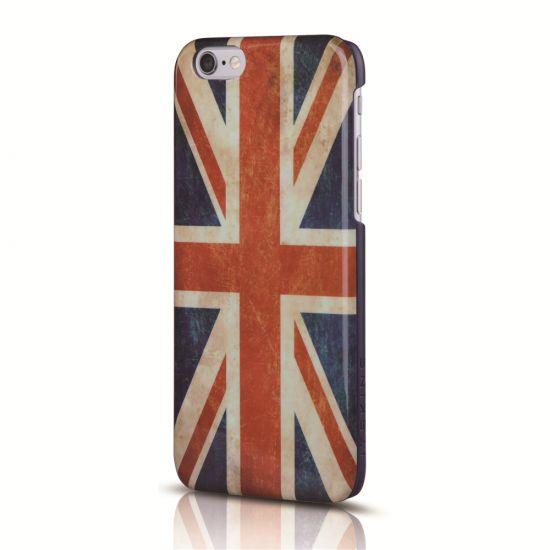 Itskins Hamo - Coque arrière en Plastique rigide pour iPhone 6(s) - Flag Vintage UK