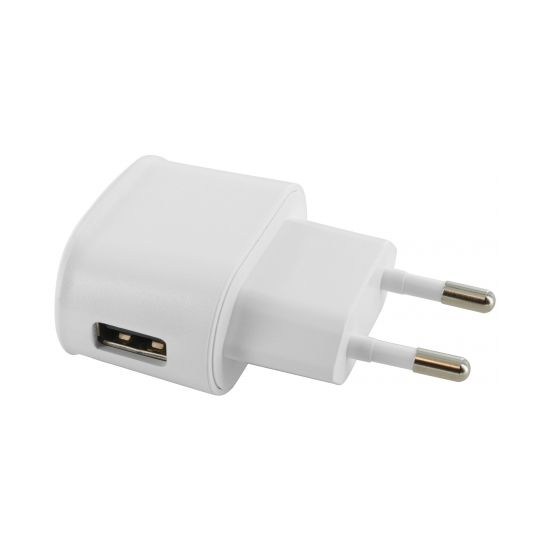 Mobiparts Premium - Simple USB Chargeur 5W 1A - Blanc