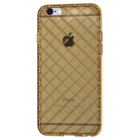 Mobigear Diamond - Coque arrière en TPU pour iPhone 6(s) - Or