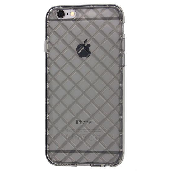 Mobigear Diamond - Coque arrière en TPU pour iPhone 6(s) - Gris