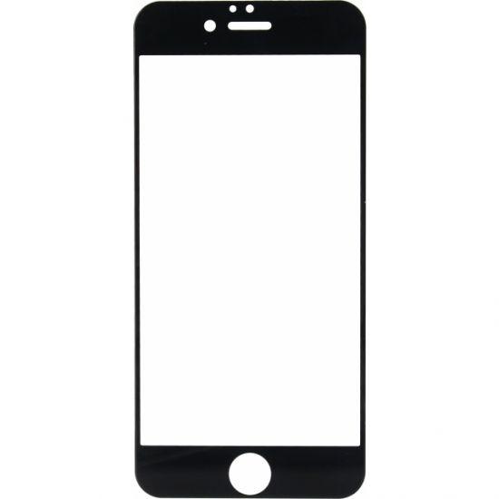 Mobilize Full Coverage - Verre trempé Protection d'écran pour iPhone 6(s) - Noir