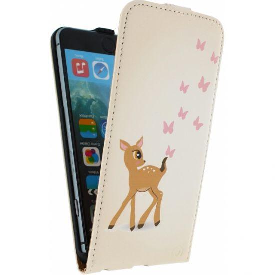 Mobilize Ultra Slim - Etui à clapet pour iPhone 6(s) Plus - Cerf