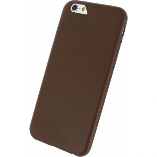 Mobilize Premium - Coque arrière pour iPhone 6(s) - Marron