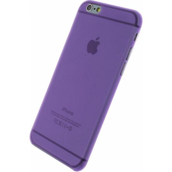 Xccess Thin Frosty - Coque arrière en Plastique rigide pour iPhone 6(s) - Lilas