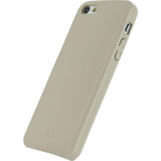 Mobilize Premium - Coque arrière pour iPhone SE (2016) / 5S / 5 - Creamy White