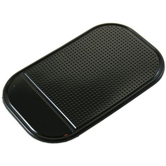 Mobigear Sticky Anti-Slip Mat - Support Voiture Tableau de bord Universel - Noir